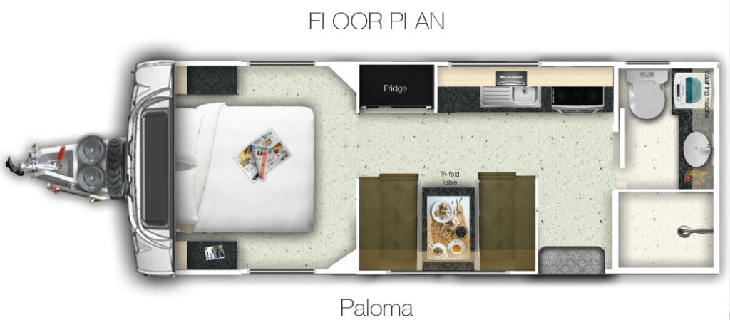 Layout of the La Vista Paloma