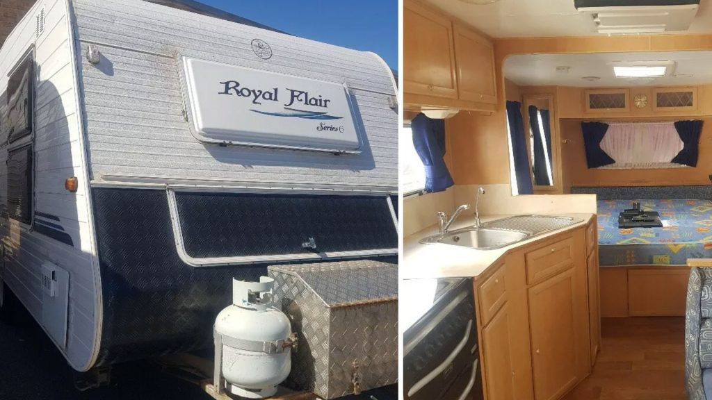 Royal Flair Used Caravan